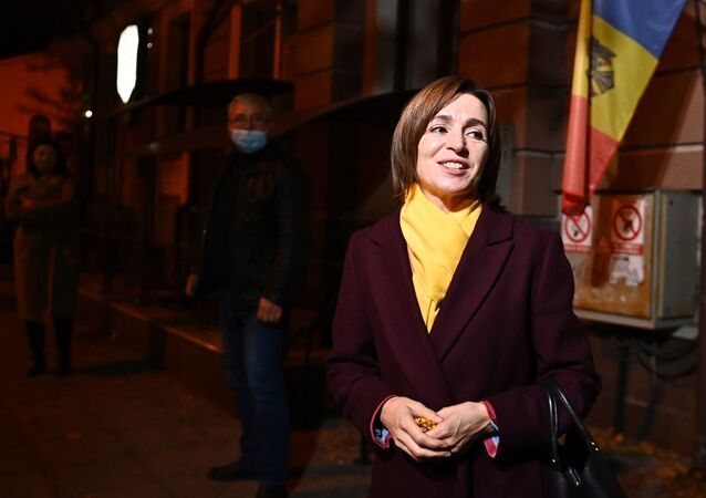 Maia Sandu, a vencedora nas recentes eleições presidenciais da Moldávia