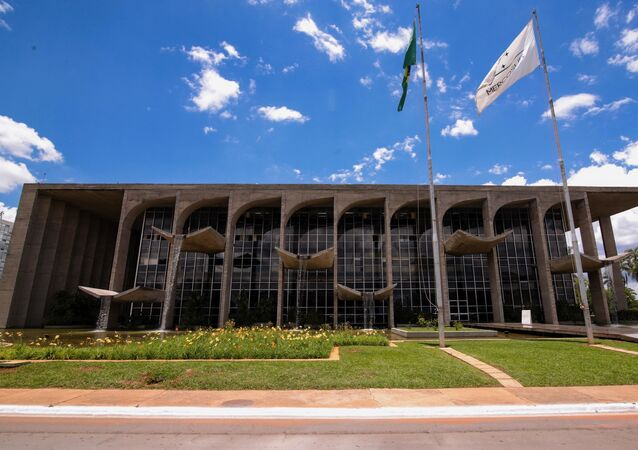 Sede do Ministério da Justiça, em Brasília (DF).