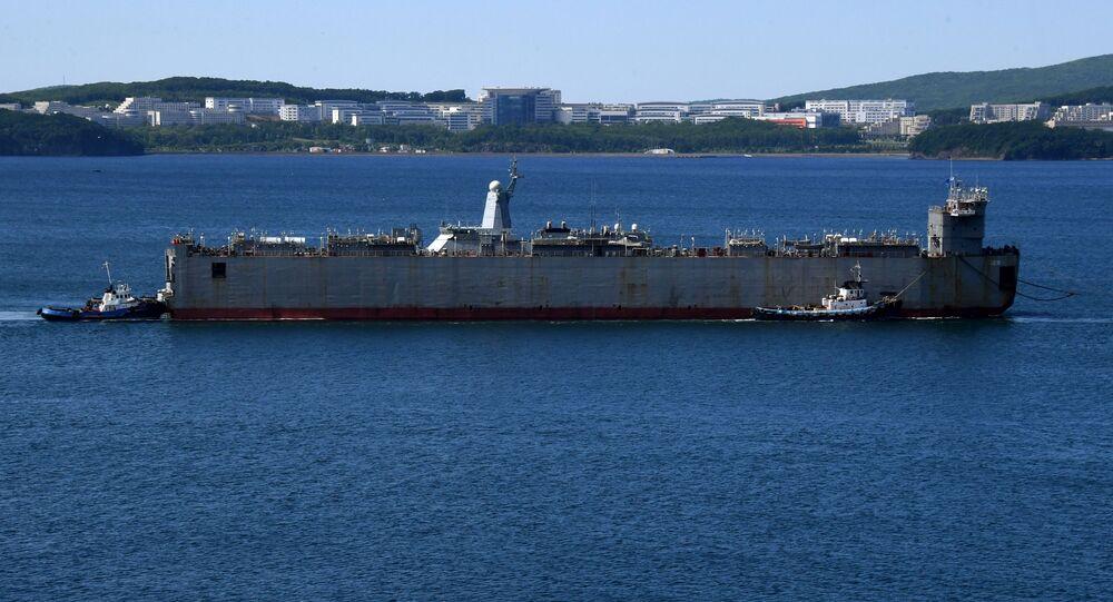 Nova corveta russa Aldar Tsydenzhapov