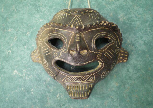 Uma máscara (imagem referencial)