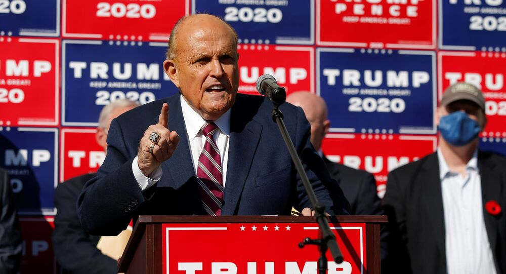 Rudy Giuliani, advogado da campanha do presidente Donald Trump.