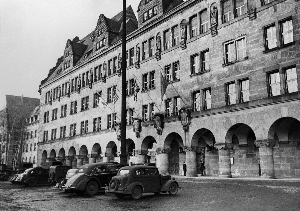 Edifício do Palácio da Justiça de Nuremberg