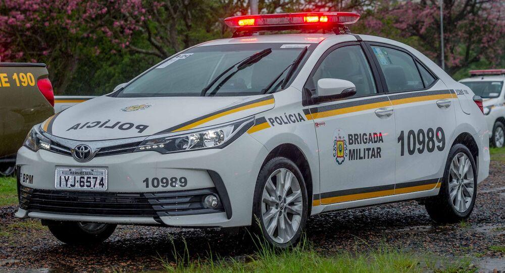 Viatura da polícia do Rio Grande do Sul