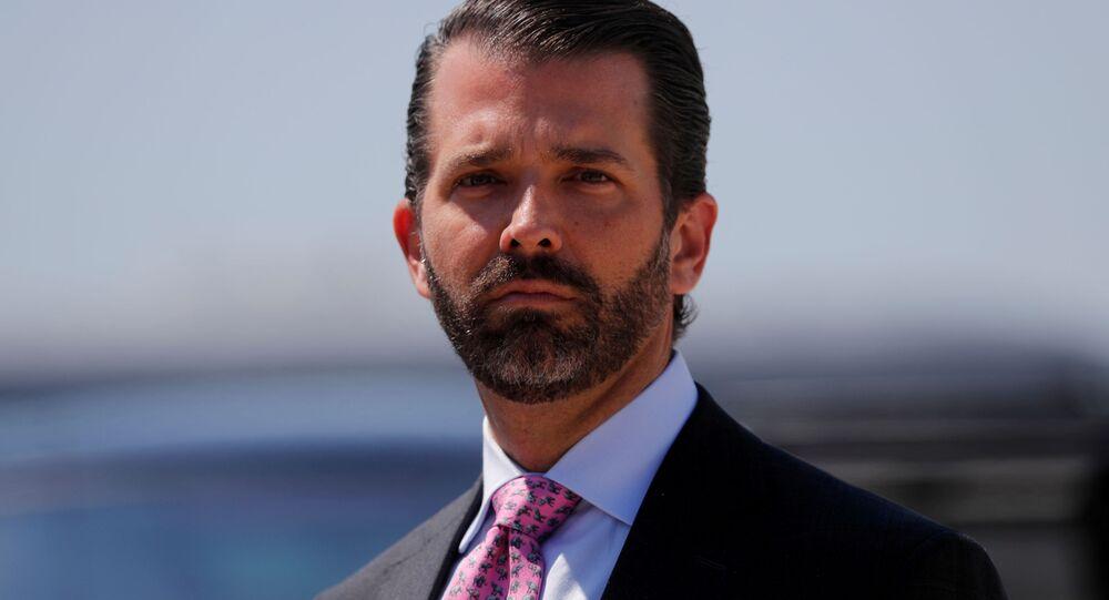 Donald Trump Jr., filho do presidente Donald Trump.