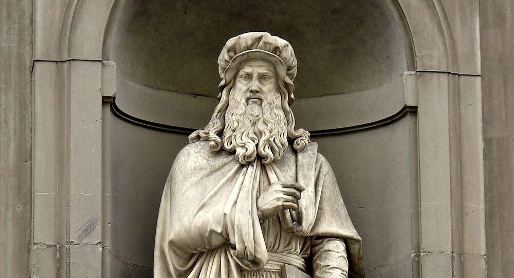 Leonardo da Vinci (imagem referencial)