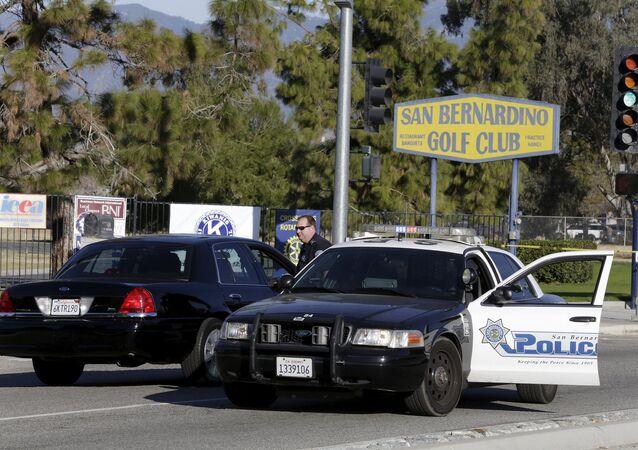 Viatura da polícia de San Bernardino, na Califórnia, Estados Unidos