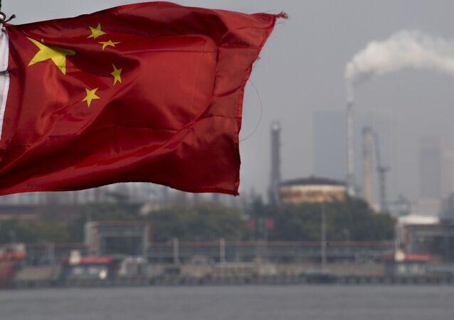 Refinaria de petróleo na China