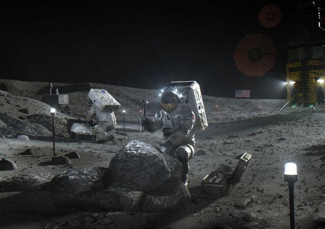 Ilustração disponibilizada pela NASA em abril de 2020