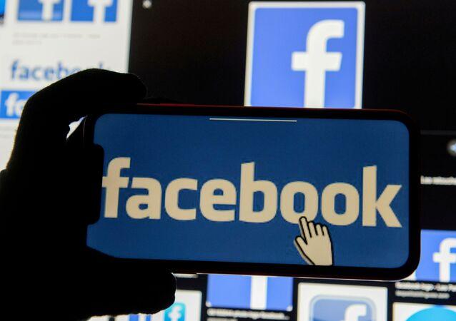 Logotipo do Facebook.