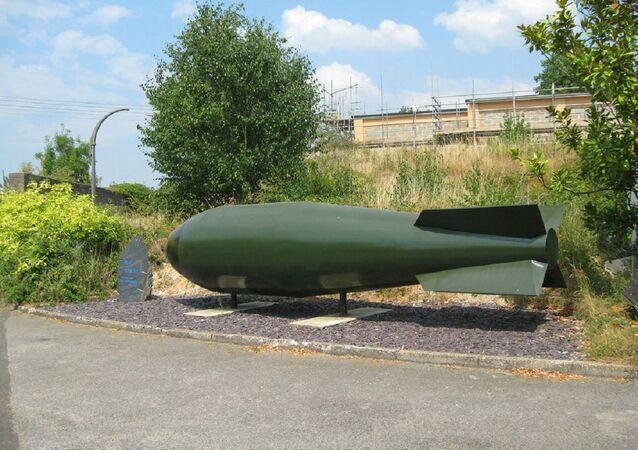 Bomba Blue Danube (Danúbio Azul, em português), Barnham.