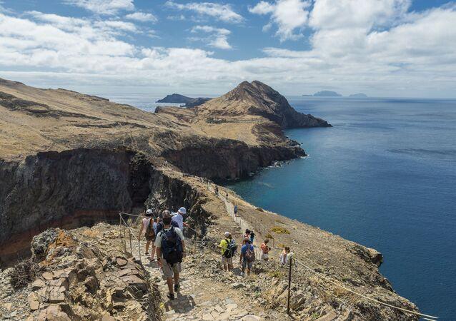 A Vereda da Ponta de São de Lourenço permite uma vista estonteante da ilha