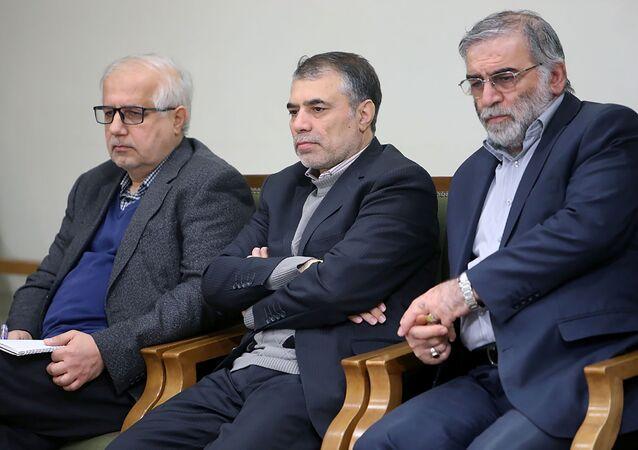 Conhecido cientista iraniano Mohsen Fakhrizadeh-Mahabadi no Irã, em foto sem data