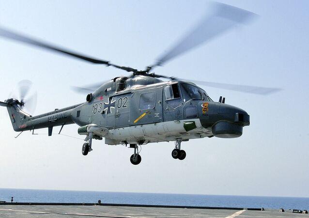 Helicóptero Sea Lynx da Marinha alemã