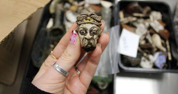 Artefato descoberto durante escavações em Hull