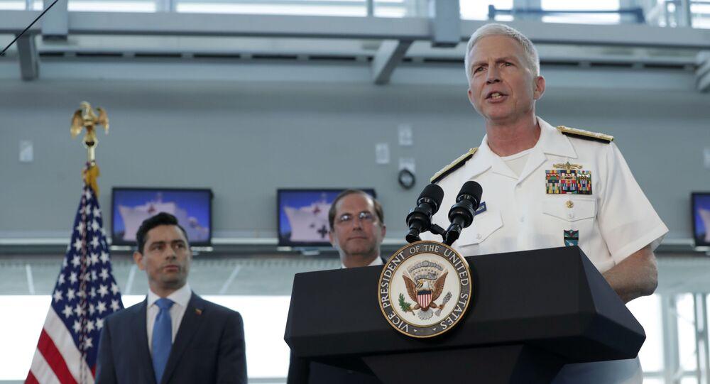 Chefe do Comando Sul dos EUA, almirante Craig Faller