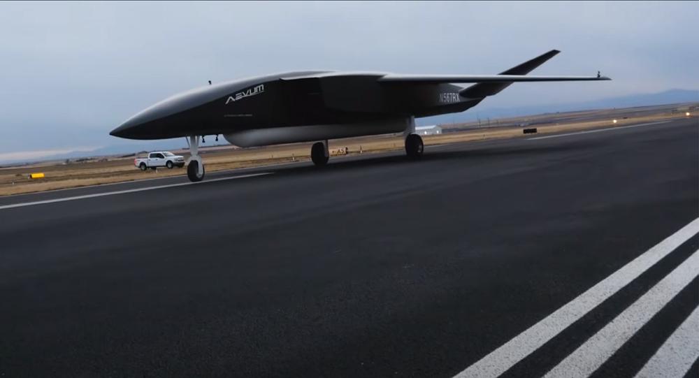 Apresentação do drone RavnX da empresa Aevum