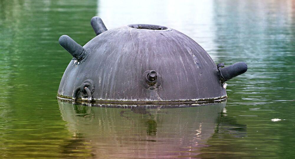 Uma mina (imagem referencial)