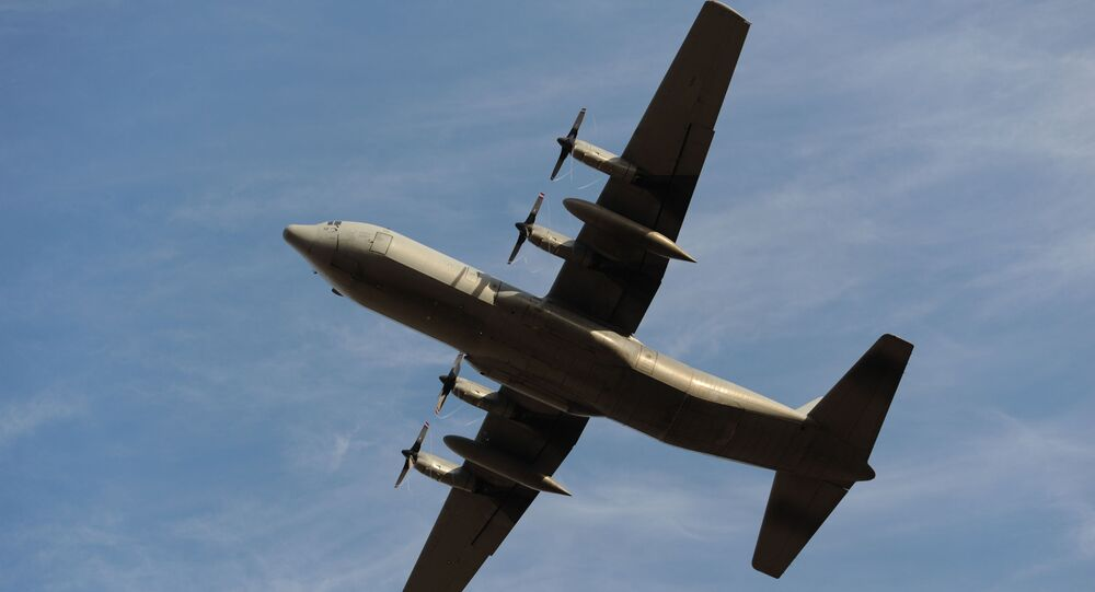 Avião C-130H Hercules