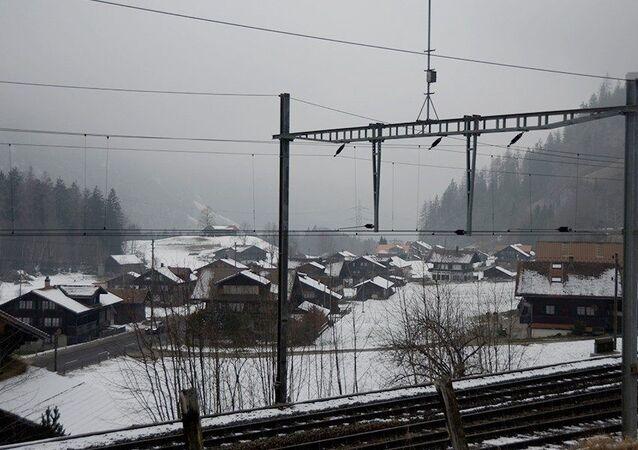 Visão geral de Mitholz, Suíça