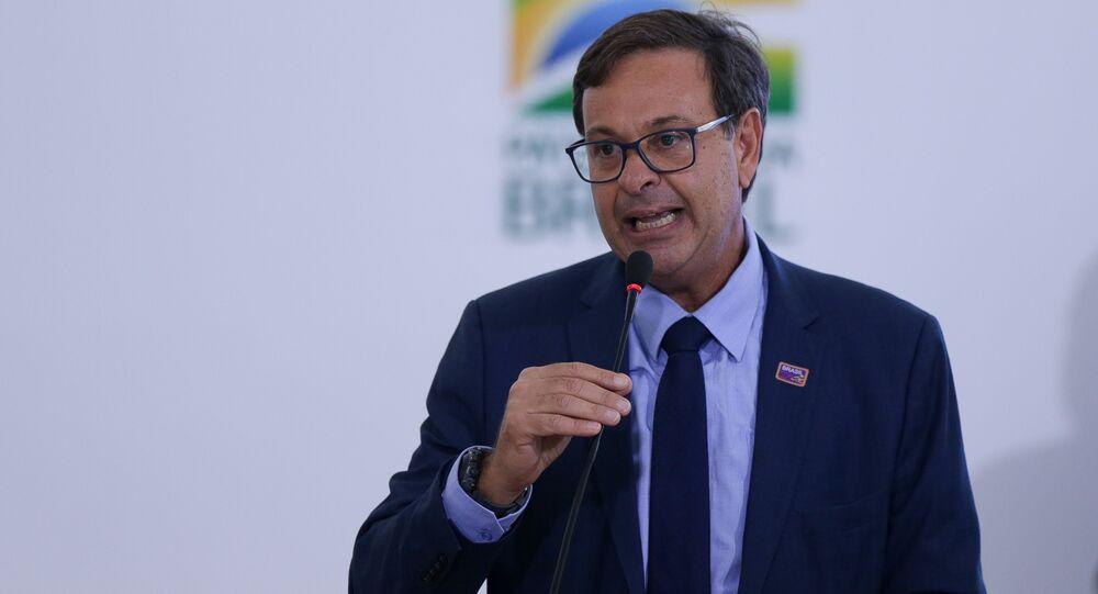 Gilson Machado, presidente do Instituto Brasileiro de Turismo (Embratur).