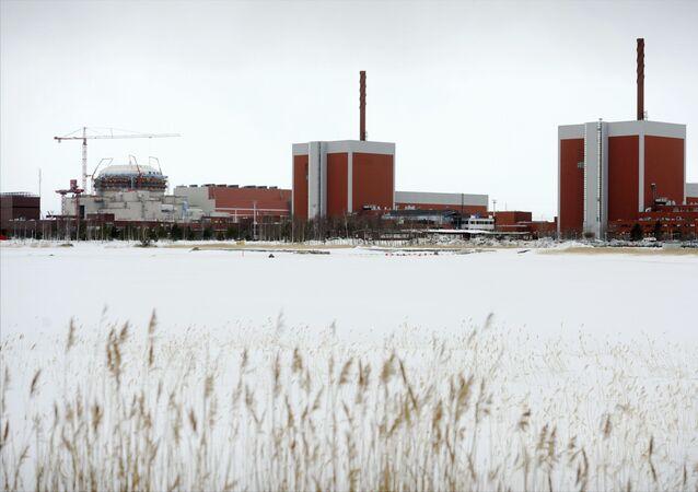 A Usina Nuclear de Olkiluoto, na Finlândia