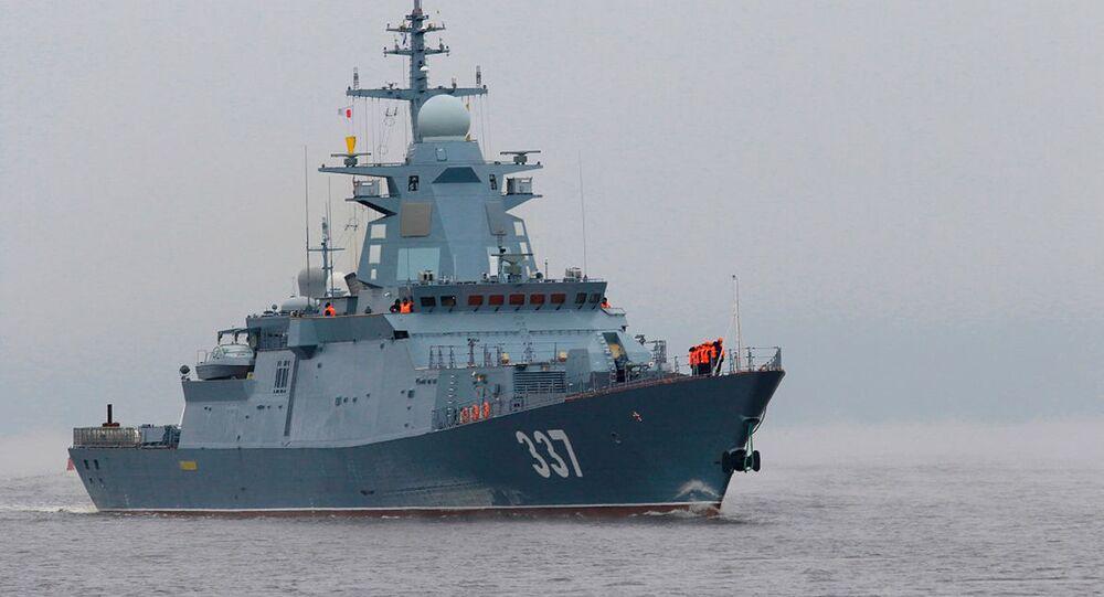 Corveta russa Gremyaschy, do projeto 20385