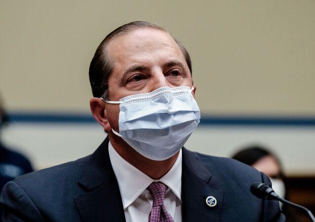 Alex Azar, secretário de Saúde e Serviços Humanos dos EUA
