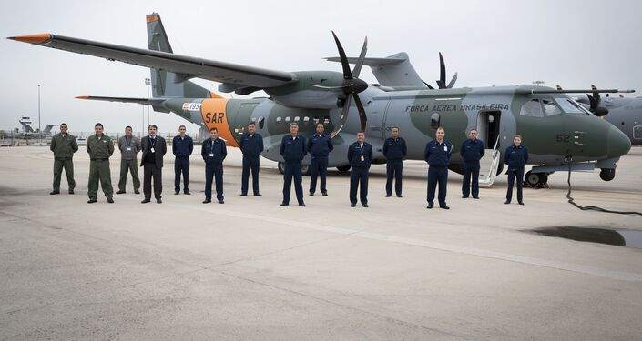 Novo avião SC-105 da FAB