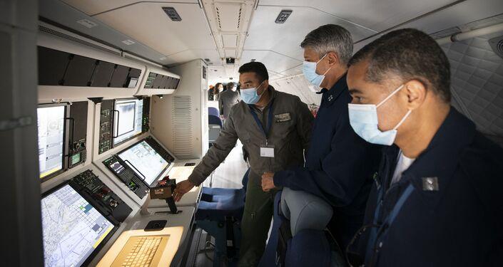 Interior do novo avião SC-105 da FAB
