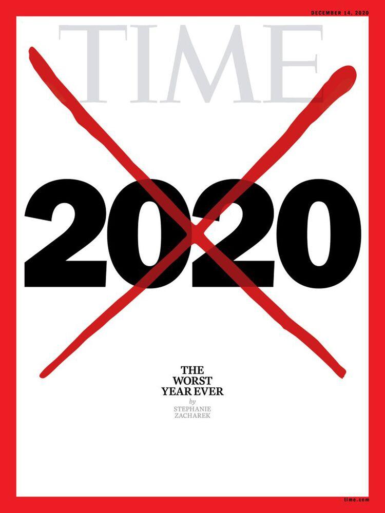 Revista Time faz publicação em 5 de dezembro afirmando que o ano de 2020 foi o pior da história