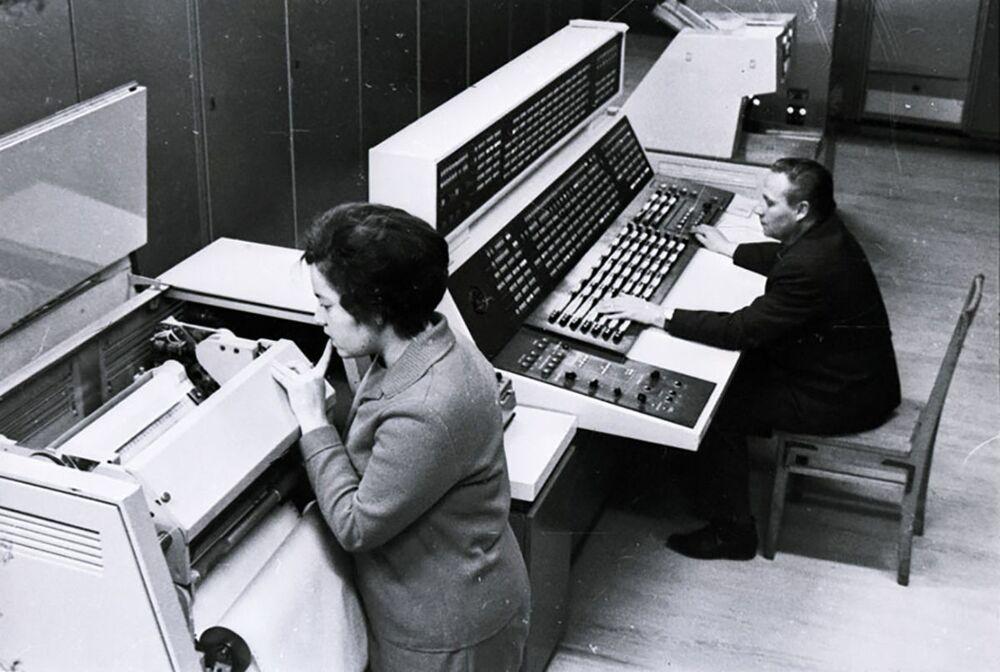Centro de Comunicações Espaciais de Longa Distância, posto de controle de voo da Venera 7