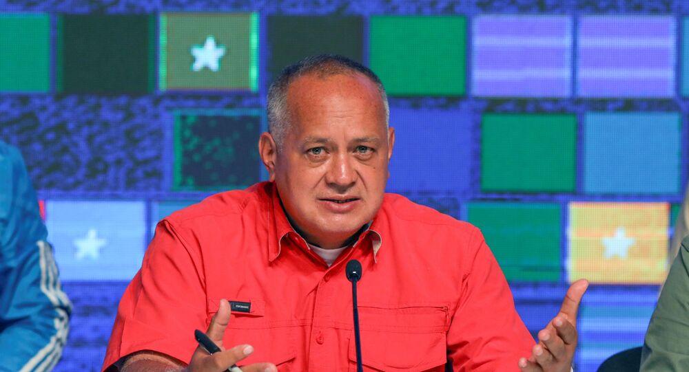 Presidente da Assembleia Nacional Constituinte da Venezuela, Diosdado Cabello