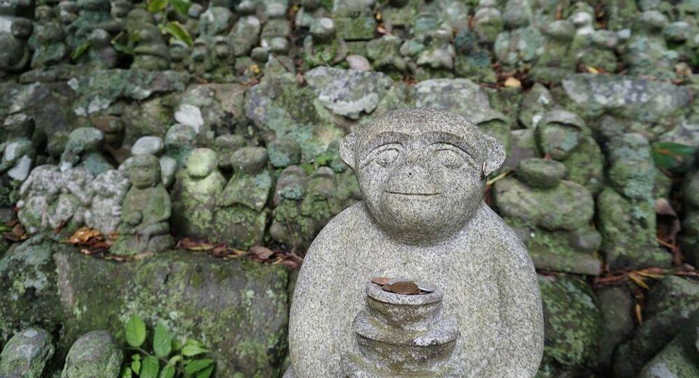 Estátua de macaco