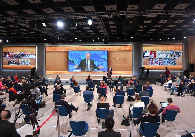 Grande coletiva de imprensa do presidente da Rússia, 17 de dezembro de 2020