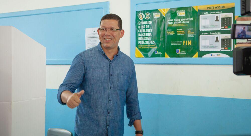 Coronel da Polícia Militar Marcos Rocha, do PSL é eleito governador de Rondônia