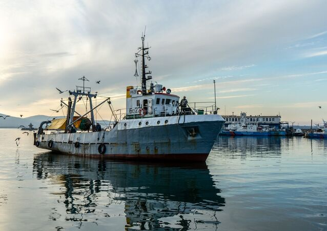 Navio pesqueiro