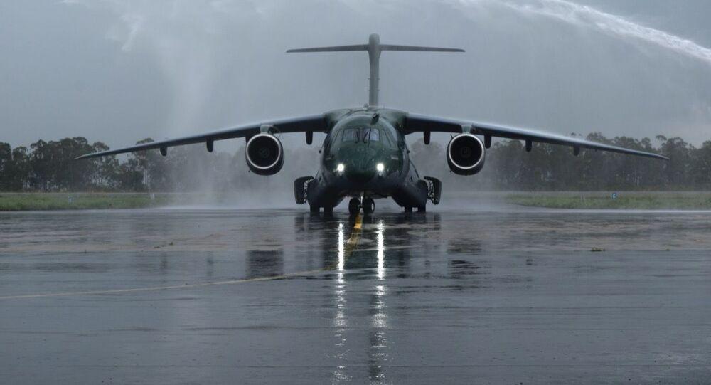 FAB recebe 4º avião de transporte KC-390 Millennium da Embraer