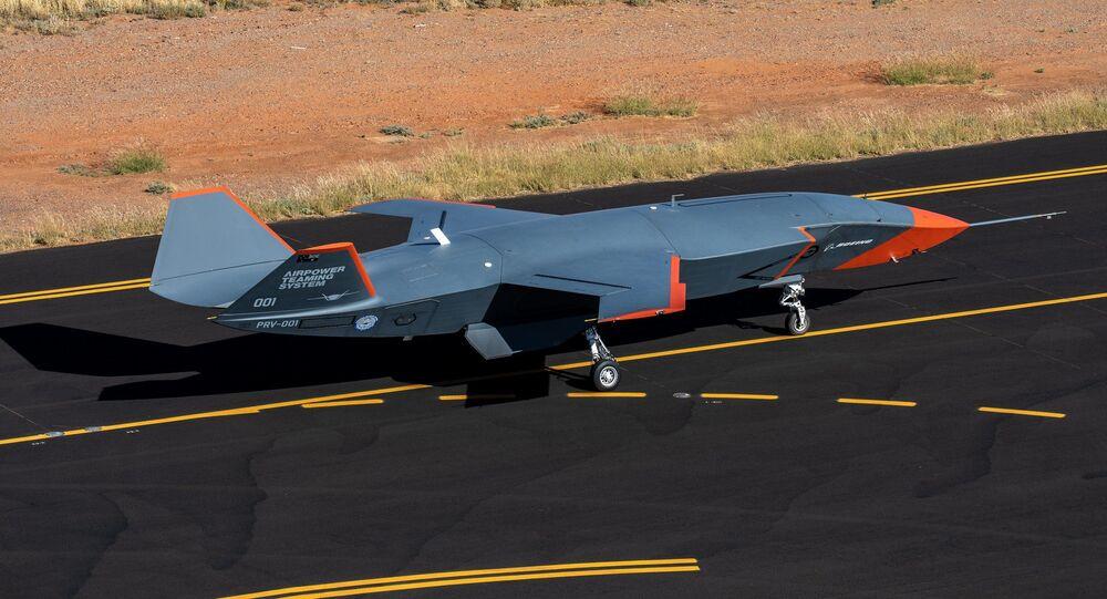 Drone de ataque Loyal Wingman da Boeing