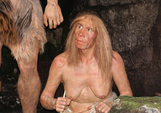 Humanos antigos (imagem referencial)