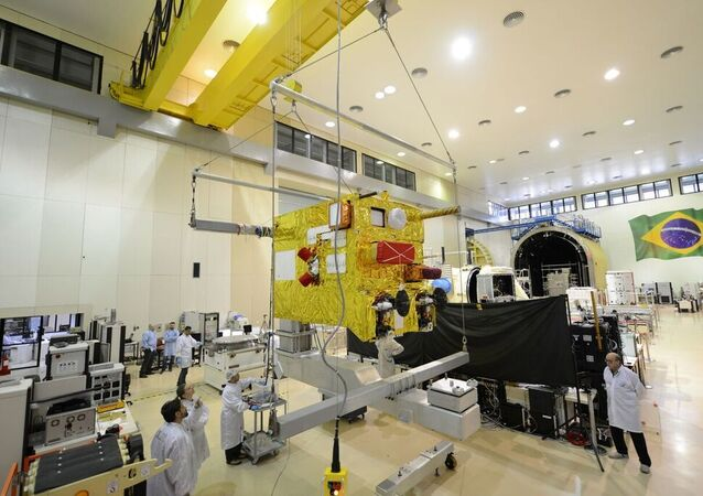 Laboratório de Integração e Testes (LIT) de satélites do Instituto Nacional de Pesquisas Espaciais (INPE)