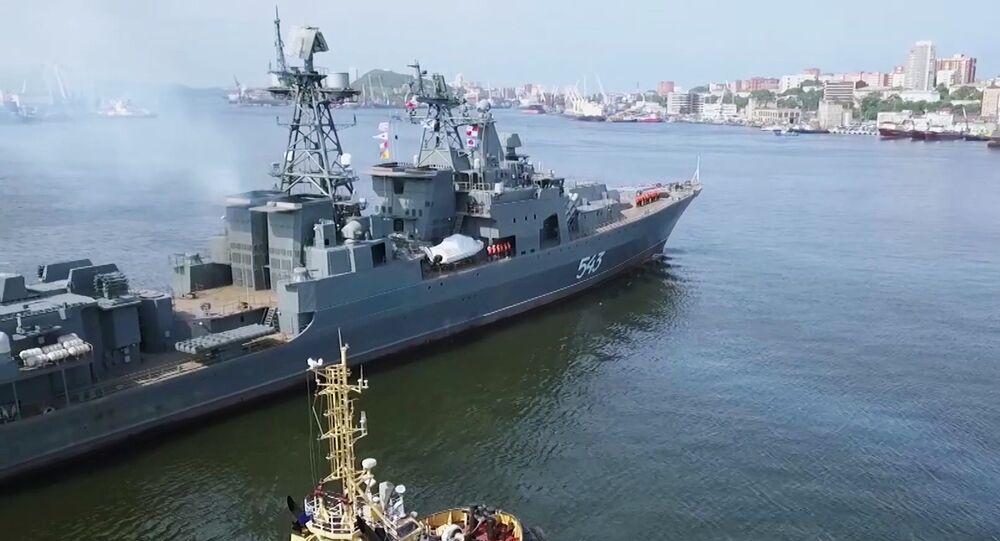 Fragata Marshal Shaposhnikov (BPK 543) recuperada e modernizada