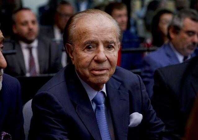 Carlos Saúl Menem, ex-presidente da Argentina
