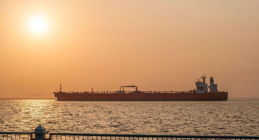 Navio Petroleiro na Venezuela (foto de arquivo)