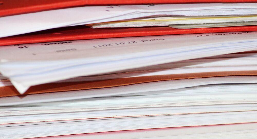 Documentos classificados (imagem referencial)