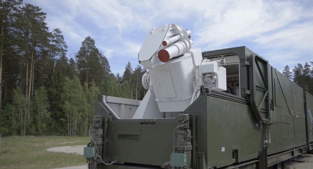 Sistema de combate a laser russo Peresvet