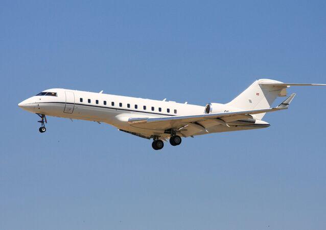 Avião espião Bombardier Global 6000 GlobalEye
