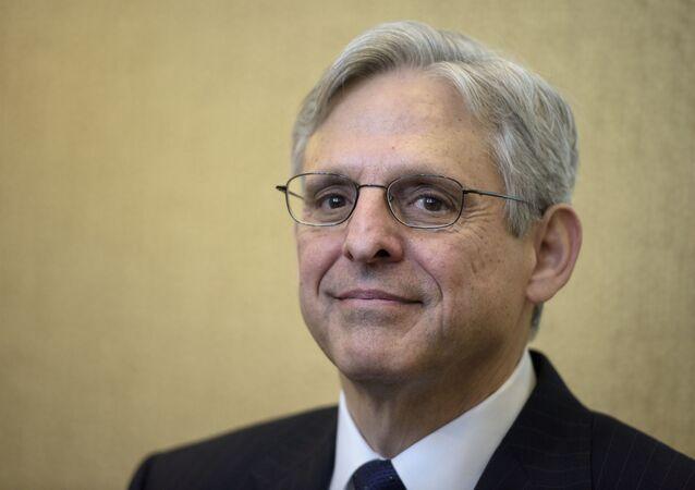 O juiz Merrick Garland, indicado pelo presidente eleito Joe Biden como procurador-geral dos EUA.