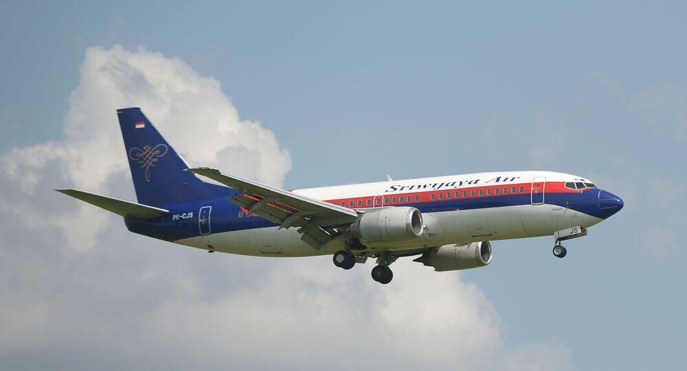 Avião da companhia aérea Sriwijaya Air (imagem referencial)