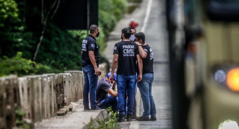 Reconstituição de acidente com ônibus que deixou 19 mortos na BR-381, em Belo Horizonte (MG), 9 de dezembro de 2020