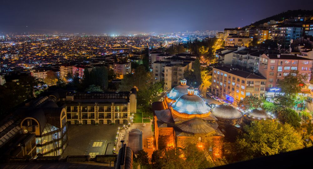 Cidade de Bursa, Turquia